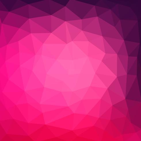 sfondo grafico multicolore viola, rosa geometriche sgualcite triangolare basso poli stile gradienti illustrazione. Vector design poligonale per il tuo business.