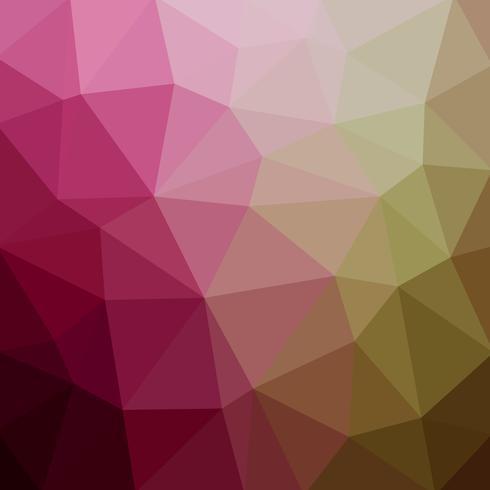 Fundo abstrato mosaico poligonal. Ilustração vetorial Fundo gradiente poli baixo multi-cor. Polígono para, cartão de visita, banner, cartaz.