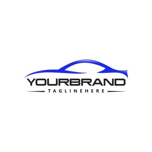 Design de logotipo de vetor de logotipo de carro
