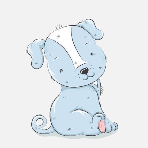 schattige kleine hond