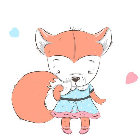 Fox fofinho vetor