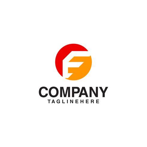 Buchstabe E-Logo. Industrielle Technologieart im runden Bereichkonzept.