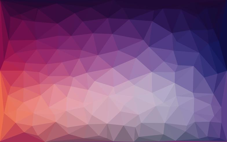 Purple blue lowpoly abstract background