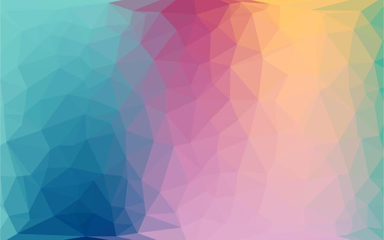Fondo liso de estilo geométrico abstracto. Desenfoque de fondo con el vidrio. Ilustración vectorial