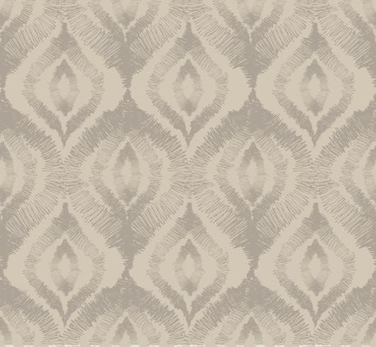 Abstraktes nahtloses Muster Orientalische geometrische mit Blumenlinie Verzierung