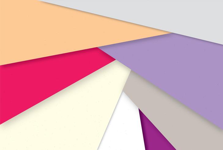 Abstrato geométrico. Papel de parede multicolor elegante