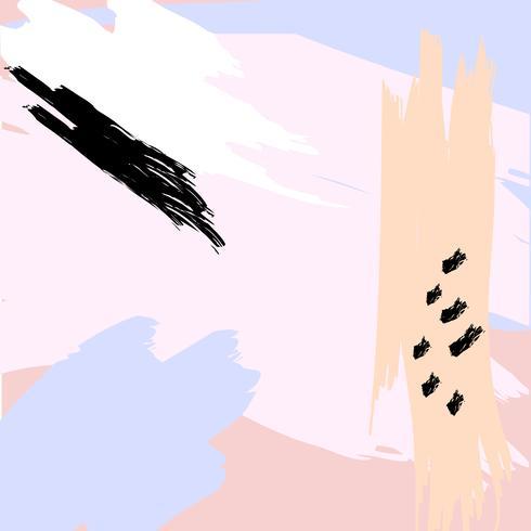 Fondo abstracto artístico creativo vector