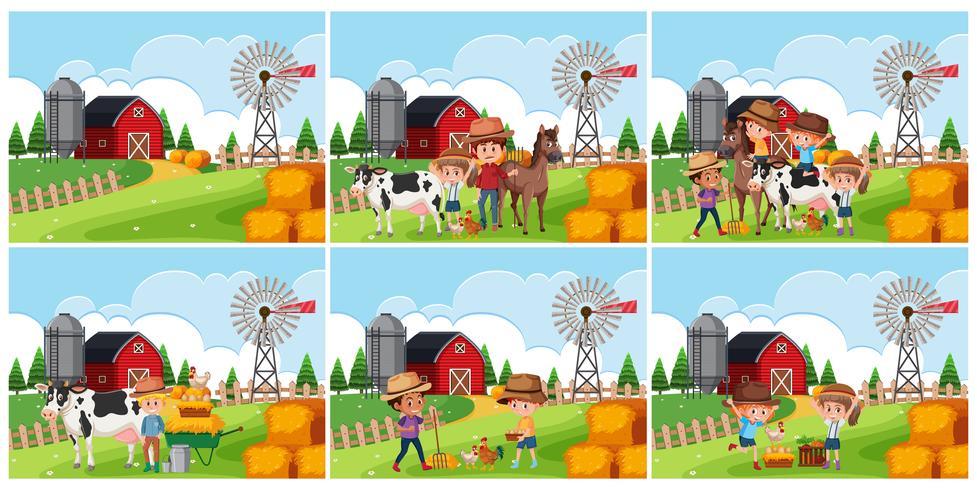 Set di scena terreni agricoli