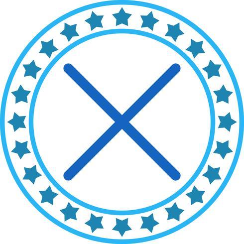 Vector Cancelar ícone