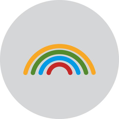 Vector Rainbow Icon