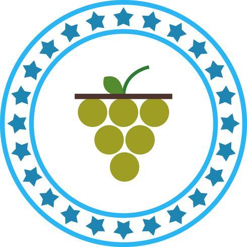 Icona di vettore dell'uva
