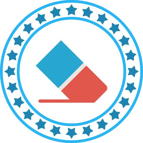 Vector Rubber Icon
