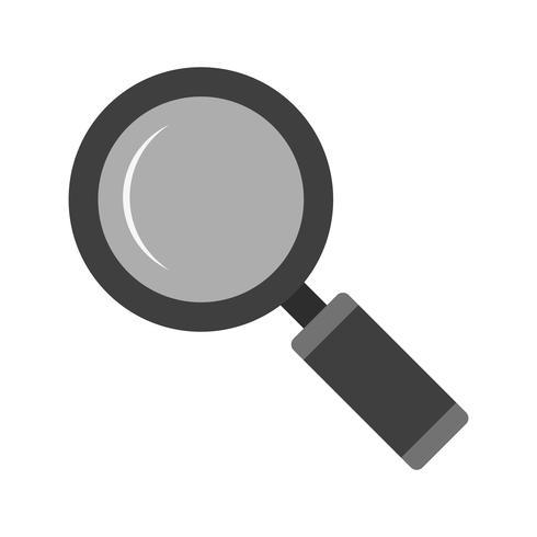 ícone de vidro magnifire de vetor