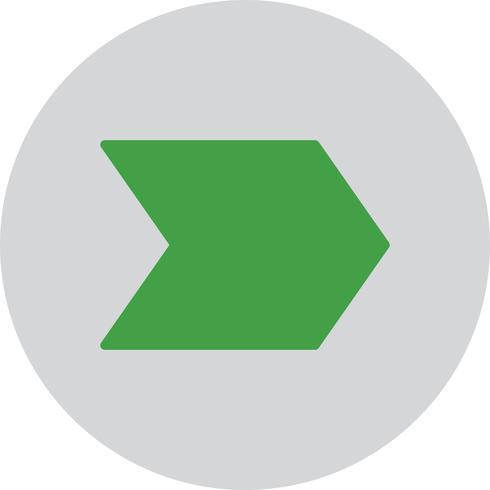 Vector seta para a direita ícone