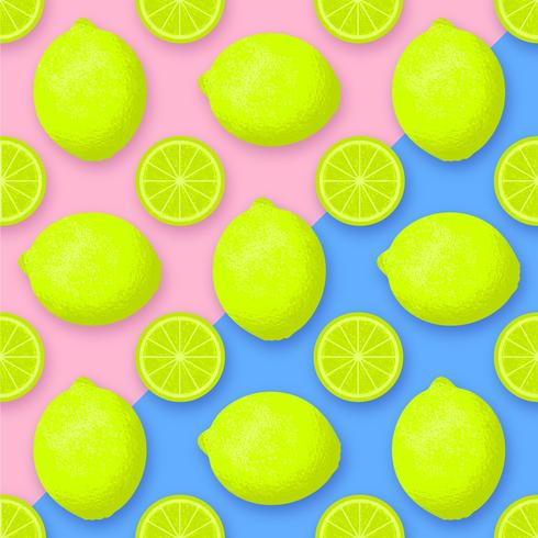 Lime Fruit Vector Background