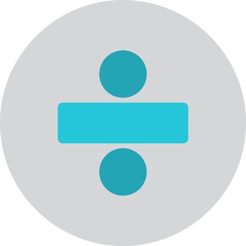 Icona di divario vettoriale