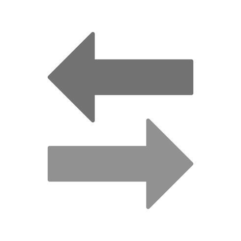 Ícone de troca de vetor
