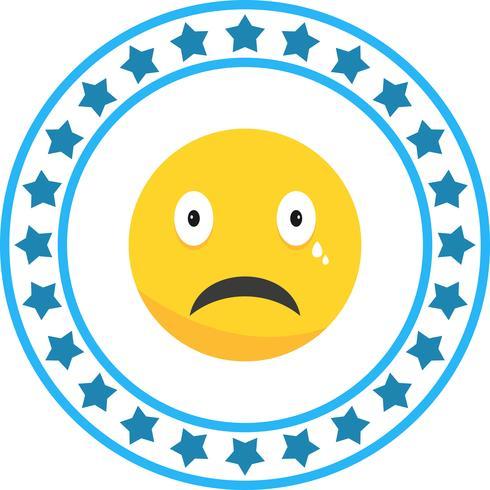 Vektor Schrei Emoji-Symbol