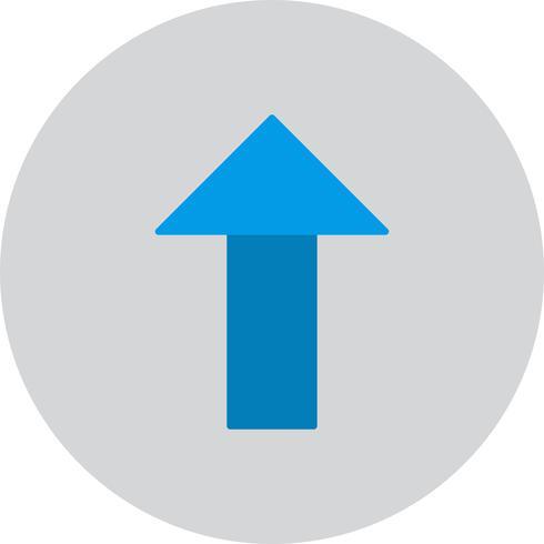Vector Up arrow Icon