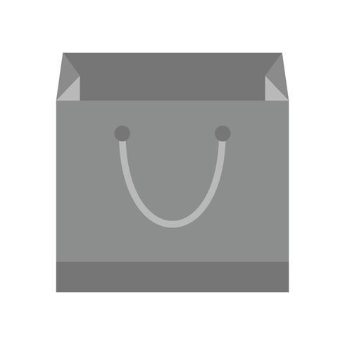 Icona del sacchetto della spesa di vettore