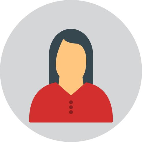 Vector Woman Icon