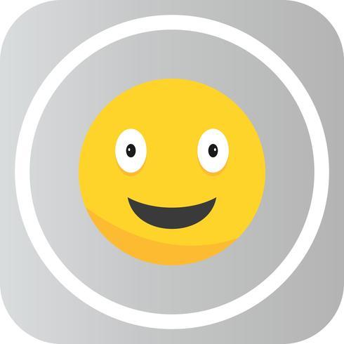 Vector Happy Emoji Icon