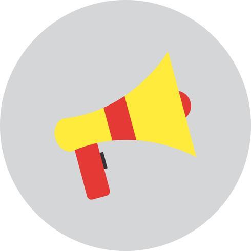 Ícone de alto-falante de vetor