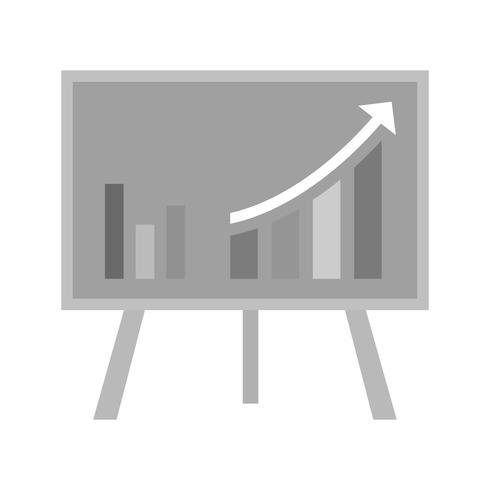 Vector groei pictogram
