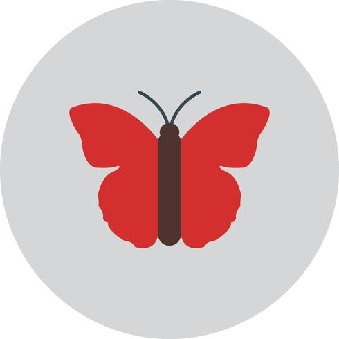 Ícone de borboleta de vetor