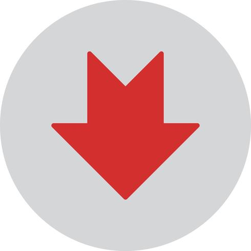 Vector Downward Arrow Icon