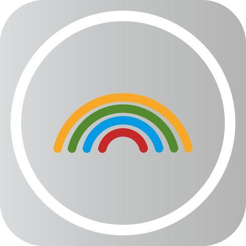 Icona del Rainbow di vettore
