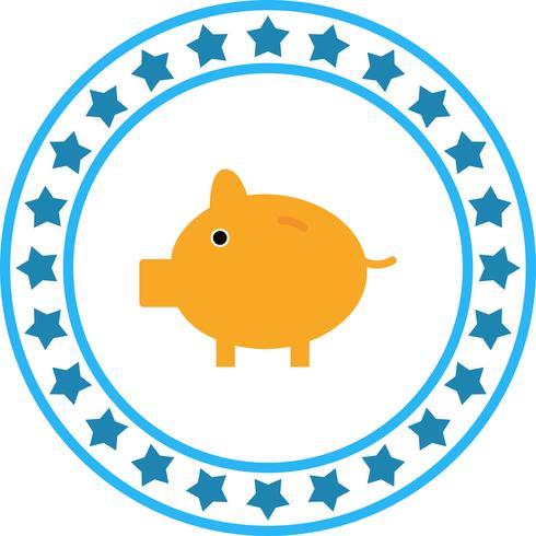 Icono de Vector Piggy Bank