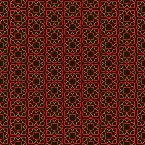 Arabic seamless ornament pattern. Ornamental decorative pattern