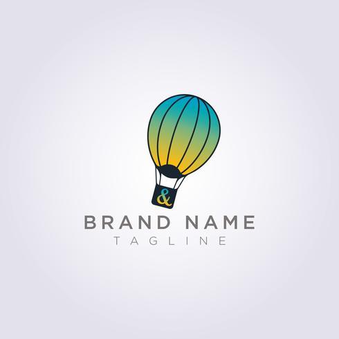 Ontwerp kleurrijke ballonnen voor uw bedrijf of merk
