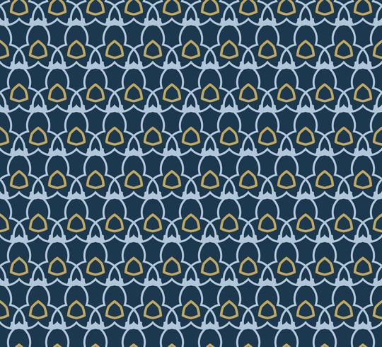Arabic seamless ornament pattern. Ornamental decorative pattern  vector
