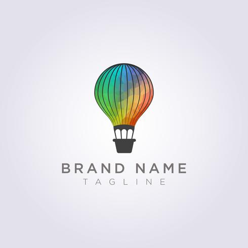 Design colorful balloons for your business or brand