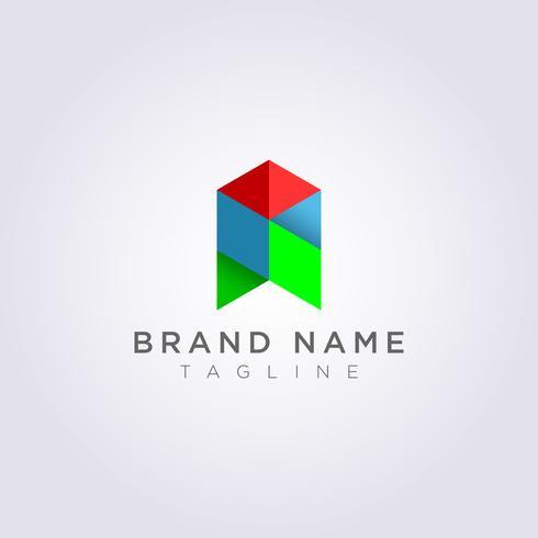 Ontwerp Geometrie Abstract Logo Pictogrammen voor u om te gebruiken
