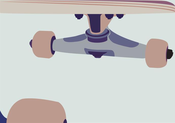 Fundo do vetor de skate