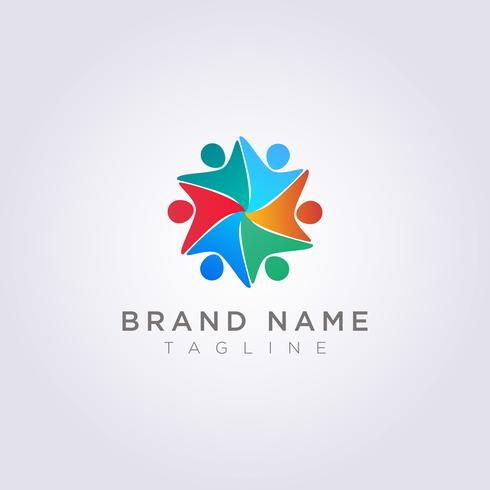 Logo Design är en grupp människor som är glada för ditt företag eller varumärke