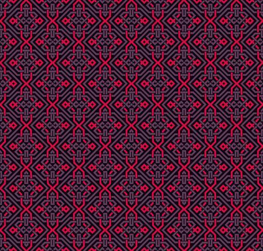 Naadloze patroon decoratieve symmetrieën, ornament patroon vector