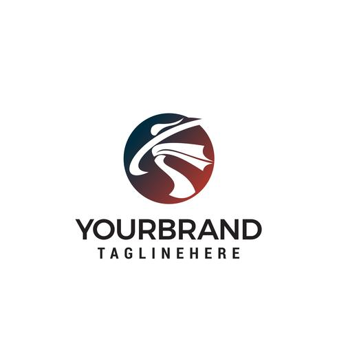 karate atlet logo design koncept mall vektor