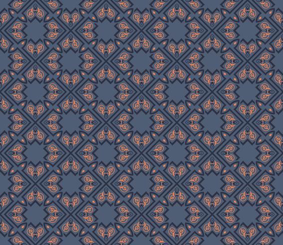 Seamless pattern decorative symmetries, ornament pattern vector
