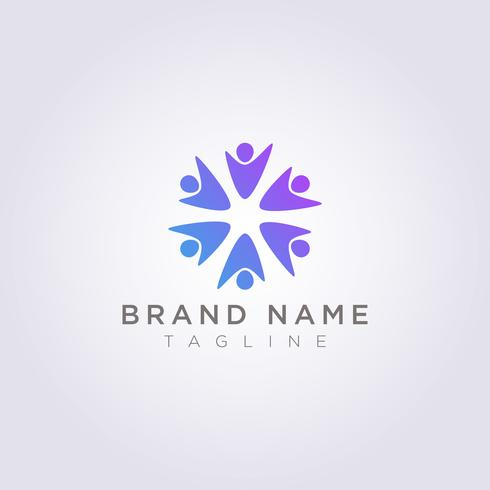 Logo Design is a group of people who are happy for your Business or Brand