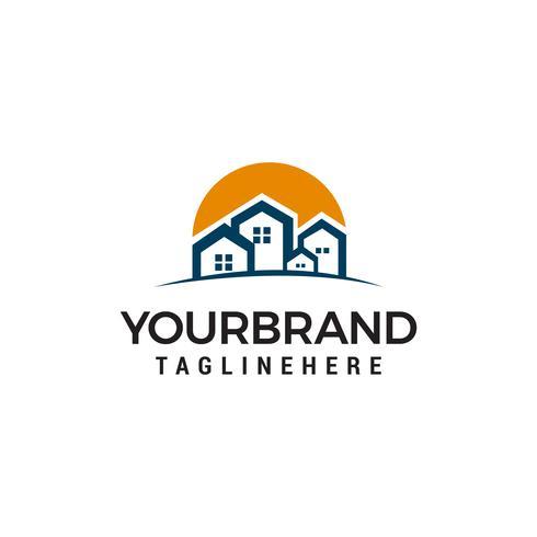 Real Estate Logo Design Template