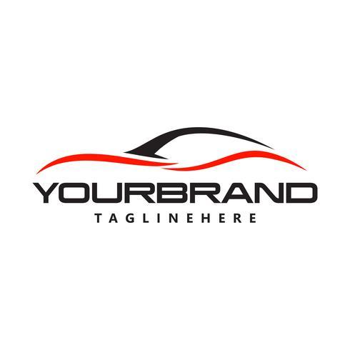 Vector de diseño de logotipo de automóvil automotriz