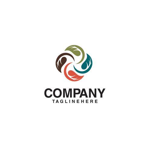 Blatt-Logo-Vektor
