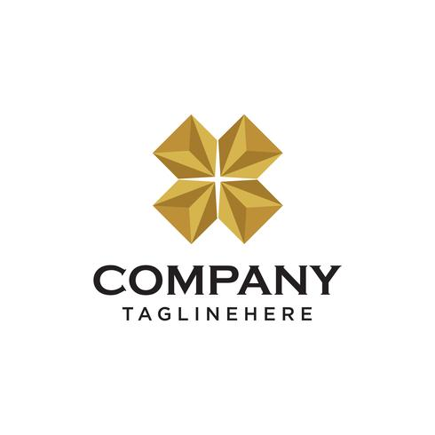 diamond logo vector concept