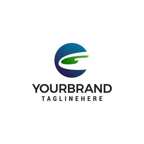 vector de plantilla de letra g logo diseño concepto