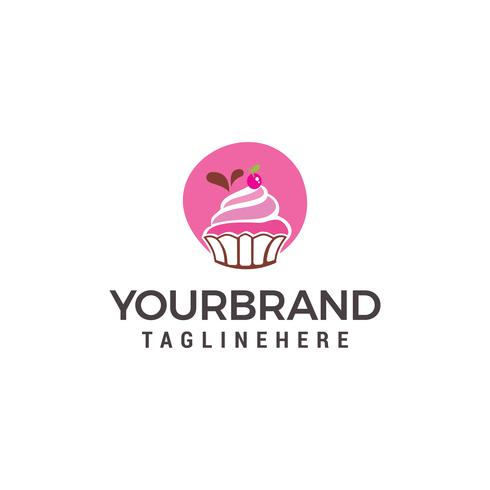 Cake And Cookies Logo Design Template vector