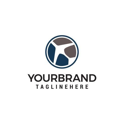 air travel logo, simple Planes logo designs template vector